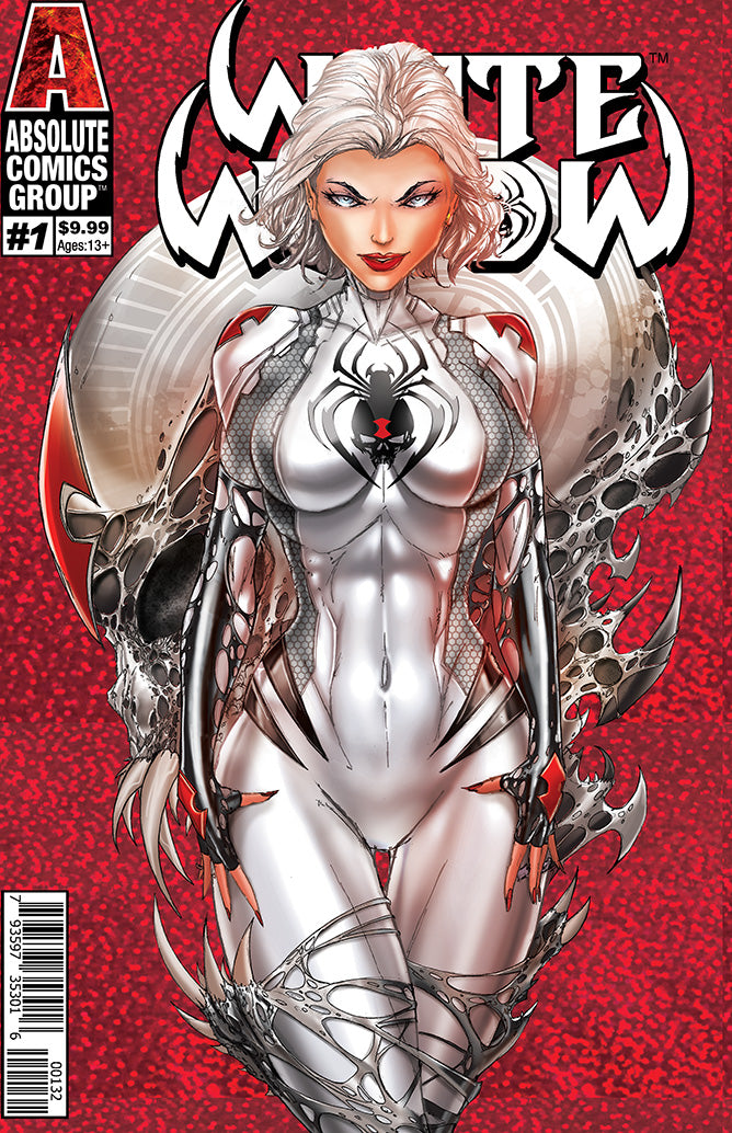 WW01C2 - White Widow #1 Comic Book - Incentive Red Foil (2nd Printing)