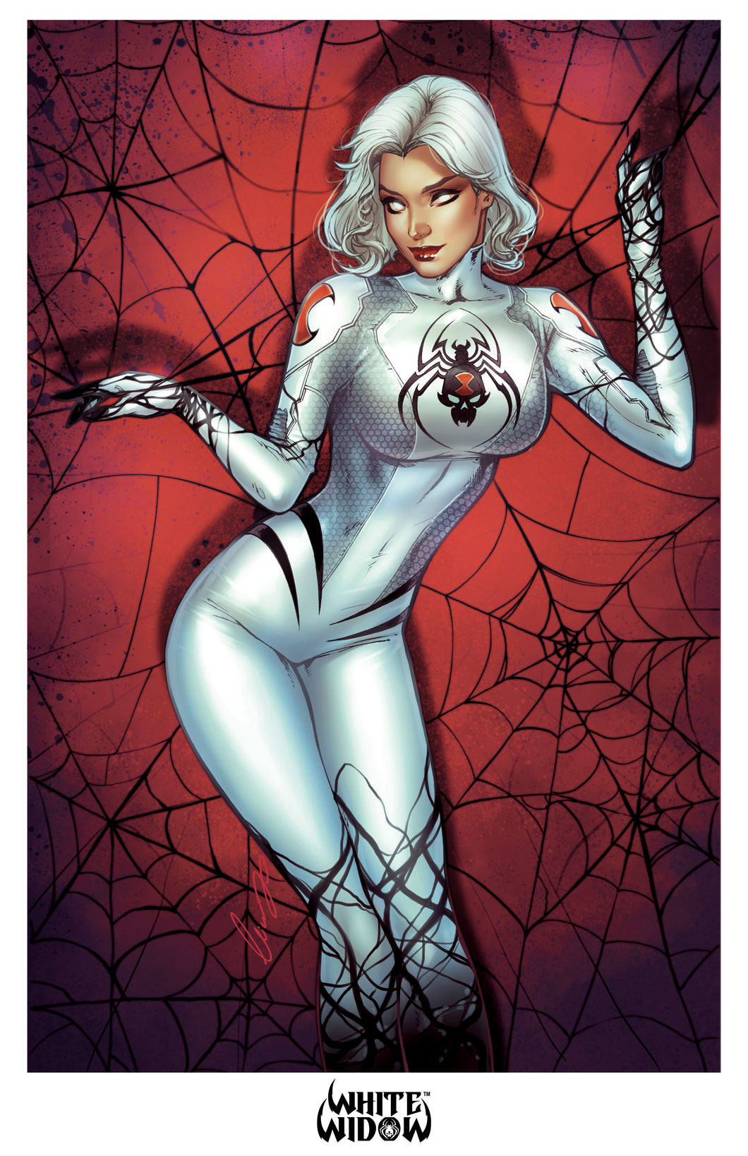 11x17 Print - White Widow #1 - Elias Chatzoudis 01
