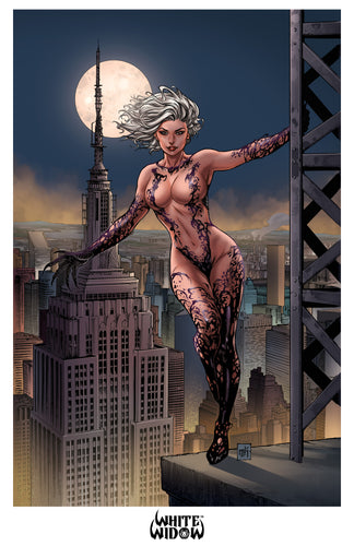 11x17 Print - White Widow #1 - Mike Krome 02