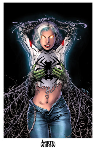 11x17 Print - White Widow #1 - Stephen Scott 01