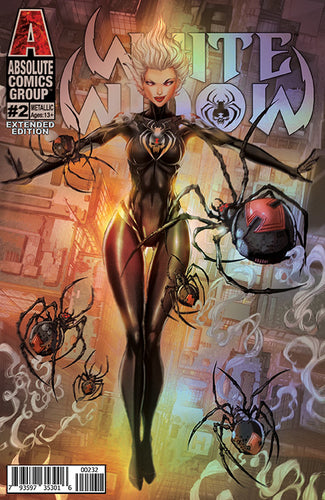 WW02C2 - White Widow #2 EXTENDED EDITION Comic Book - Retail METALLIC INK Edition