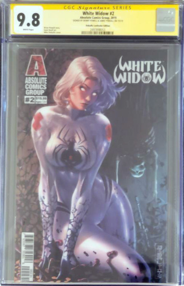 White Widow #2C - Retail Lenticular - CGC 9.8 Yellow Label