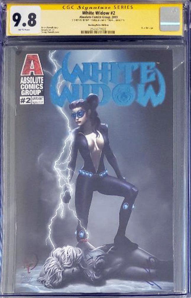 White Widow #2D - Beating Pulse - CGC 9.8 Yellow Label