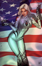 Load image into Gallery viewer, White Widow #4 - 4th of July METALLIC VIRGIN Edition - Elias Chatzoudis