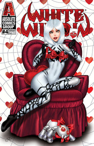 WW04VA - White Widow #4 - Valentine 2020 Trade Foil