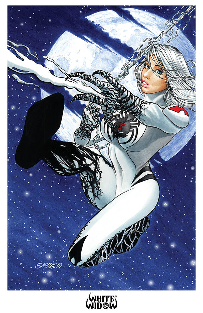 11x17 Print - White Widow #4 - Mark Sparacio 02