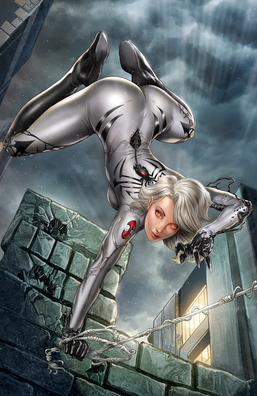 WW04U - White Widow #4 - METAL - Vantage Unmasked