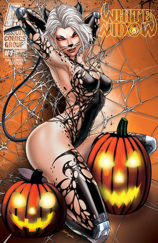 White Widow #1 - Halloween Variant Cover Edition - Jamie Tyndall