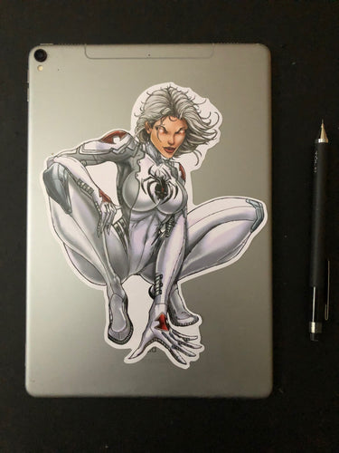 White Widow Super Sticker - Jamie Tyndall 10