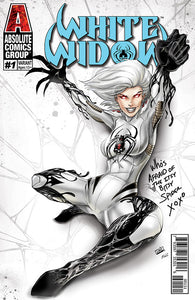 WW01F - White Widow #1 Comic Book - Itsy Bitsy Spider