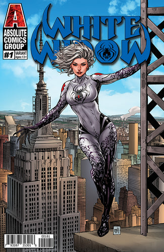 WW01J - White Widow #1 Comic Book - Empire Day
