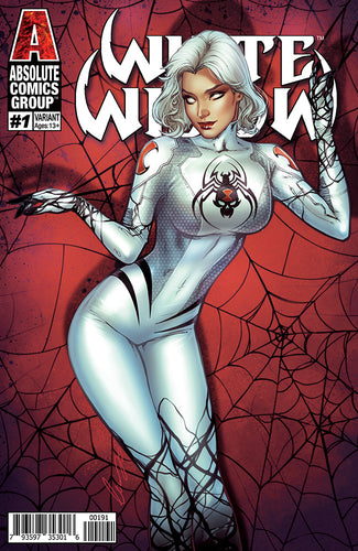 WW01X - White Widow #1 Comic Book - Vintage Spider Kisses