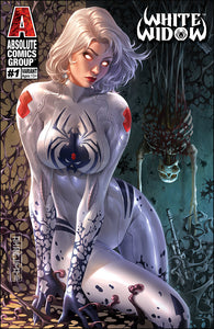WW01Y - White Widow #1 Comic Book - Debalfo Suited