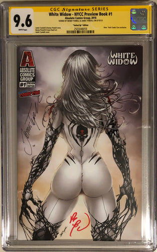 White Widow NYCC Preview #1e - Suited Up - CGC 9.6 Yellow Label