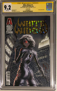 White Widow #1A2 - Painted Gold Retail 2nd - CGC 9.2 Yellow Label