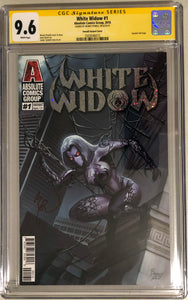 White Widow #1C - Painted Alpha - CGC 9.6 Yellow Label