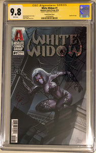White Widow #1C - Painted Alpha - CGC 9.8 Yellow Label