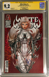 White Widow #1C2 - Incentive Cover Retail 2nd - CGC 9.2 Yellow Label