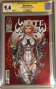 White Widow #1C2 - Incentive Cover Retail 2nd - CGC 9.4 Yellow Label