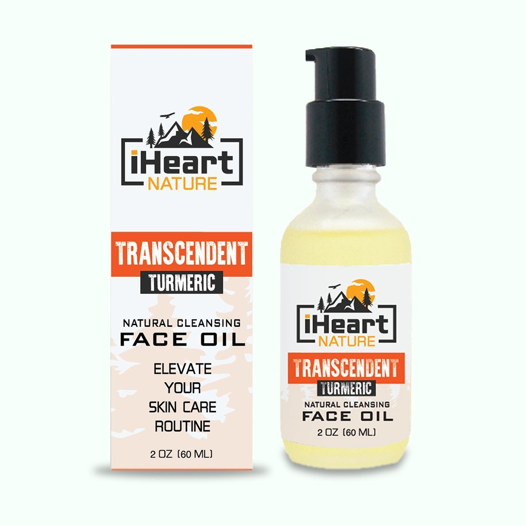 Turmeric Cleansing Face Oil - Elevate Your Skin Care Routine for Youthful Clear Toned Skin - iHeart Nature
