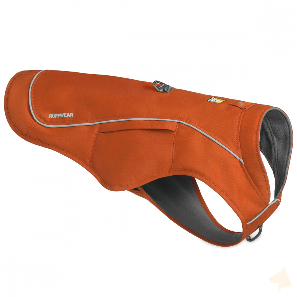 2in1 Geschirr und Mantel Ruffwear Overcoat Fuse™ - orange-Ruffwear-athleticdog