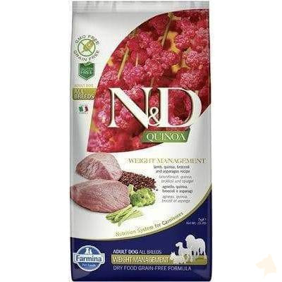 Farmina N&D Adult Weight Management Quinoa Lamm mit Broccoli - 7kg-Farmina-athleticdog