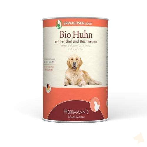 Herrmanns Selection Adult BIO Huhn mit Fenchel-Herrmanns-athleticdog