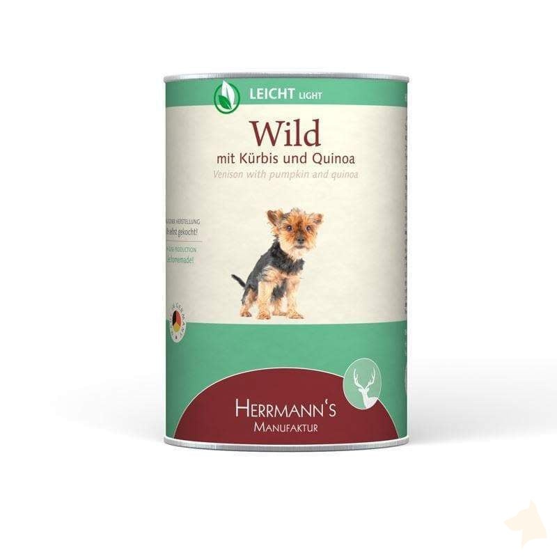 Herrmanns Selection Light Wild mit Kürbis-Herrmanns-athleticdog