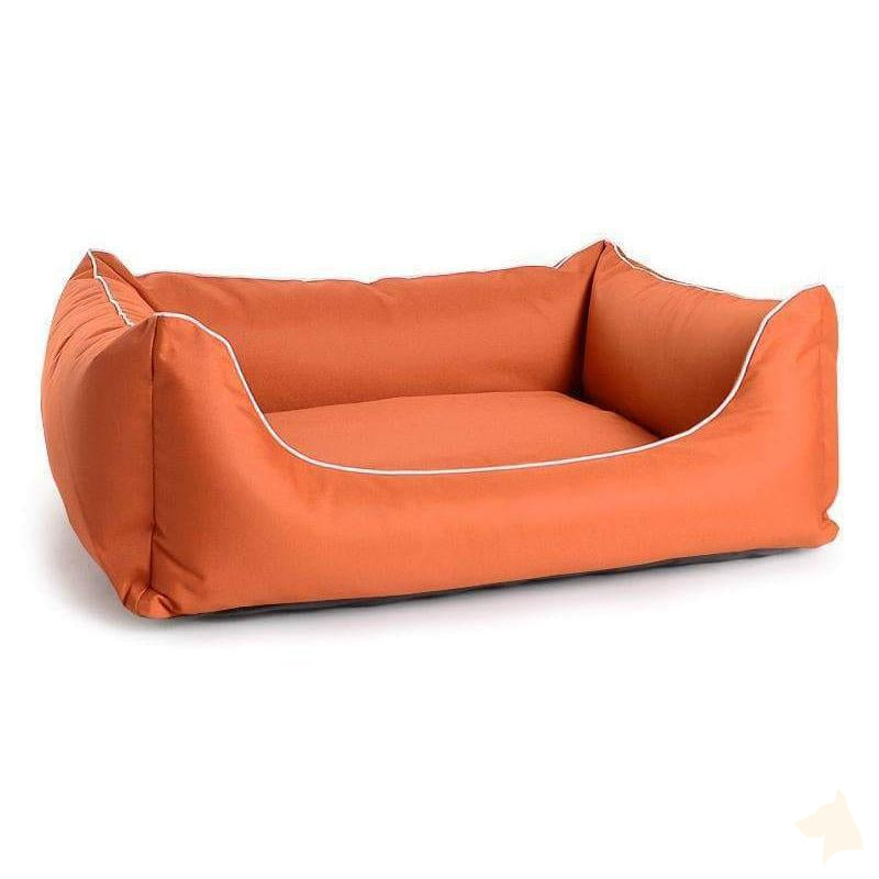 Hundebett Arpad Stoff - orange-mypado-athleticdog