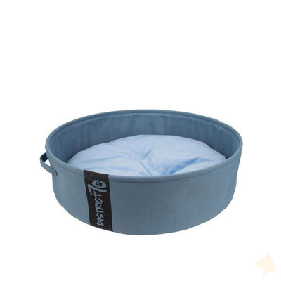 Hundebett Lounge - denim blau-District 70-athleticdog