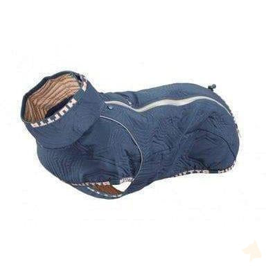 Wintermantel Casual Quilted - blau-Hurtta-athleticdog