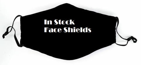 In Stock Face Shields