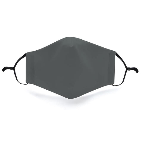 Solid Grey In Stock Face Shield