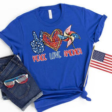 Load image into Gallery viewer, 20-014 - 172 - Peace Love America - Due 5/9 *Pre-Order*