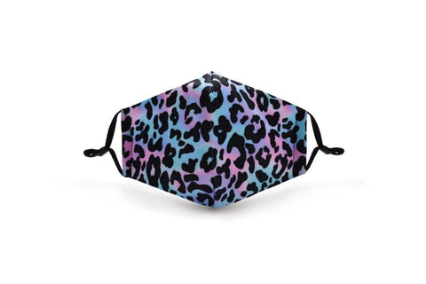 Pastel Leopard In Stock Face Shield