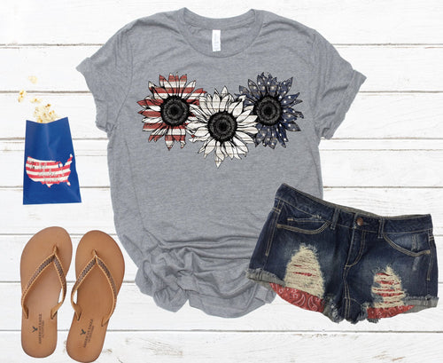 20-014 -181 - Patriotic Sunflowers - Due 5/9 *Pre-Order*