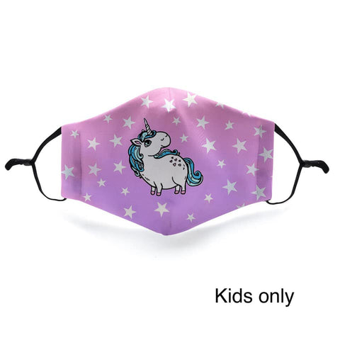 Unicorn - Kids In Stock Face Shield