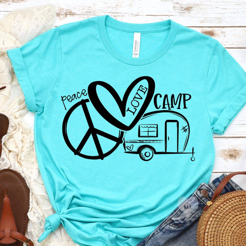 20-024 - 400 - Peace Love Camp - *Pre-Order* - Screen Print - Due 8/9