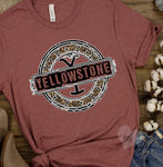 20-026 - 442 - Yellowstone Grunge - *Pre-Order* - Screen Print - Due 8/23