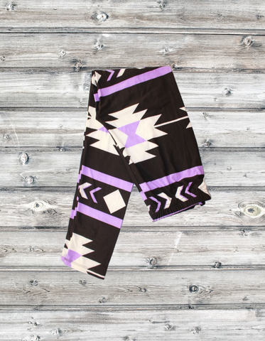 5961 - Purple Aztec