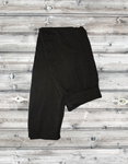 5976 - Black Solid Capri