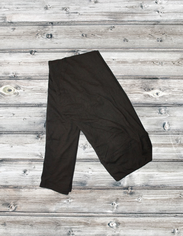 6018 - Black Solid Yoga