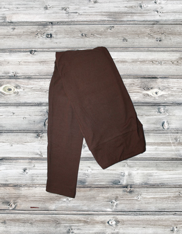 6019 - Brown Solid Yoga