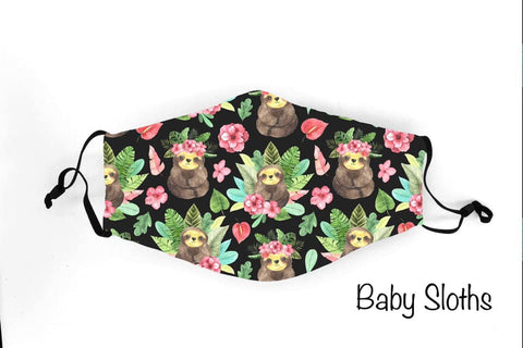 Baby Sloths - 1219 Face Shield Pre-Order Due 12/19
