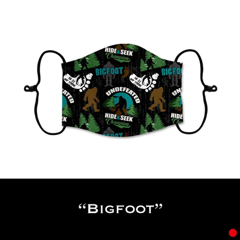 Bigfoot - Face Shield - PRE-ORDER - ETA End July 2020