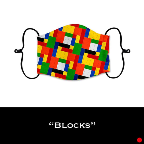 Blocks - Face Shield - PRE-ORDER - ETA End July 2020