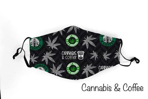 Cannibas and Coffee - 1219 Face Shield Pre-Order Due 12/19