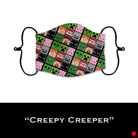 Creepy Creeper - Face Shield - PRE-ORDER - ETA End July 2020