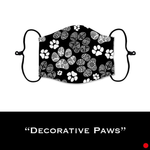Decorative Paws - Face Shield - PRE-ORDER - ETA End July 2020