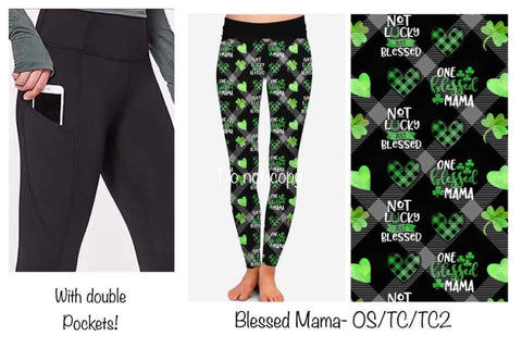 120819 Double Pocket - St. Patty's Pre-Order - Blessed Mama